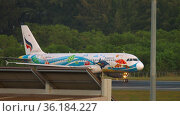 Bangkok Airways aviation company in Thailand (2016 год). Редакционное видео, видеограф Игорь Жоров / Фотобанк Лори