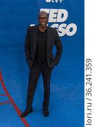 Moe Jeudy-Lamour attends Apple's 'Ted Lasso' Season Two Premiere ... Редакционное фото, фотограф Eugene Powers Photography / age Fotostock / Фотобанк Лори