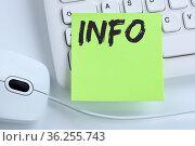 Info Infos Information Informationen News Nachrichten Konzept Maus... Стоковое фото, фотограф Zoonar.com/Markus Mainka / easy Fotostock / Фотобанк Лори