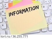 Information Info Infos Informationen News Nachrichten Business Konzept... Стоковое фото, фотограф Zoonar.com/Markus Mainka / easy Fotostock / Фотобанк Лори