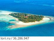 Malediven Insel Urlaub Paradies Meer Textfreiraum Copyspace Embudu... Стоковое фото, фотограф Zoonar.com/Markus Mainka / easy Fotostock / Фотобанк Лори