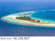 Malediven Insel Urlaub Paradies Meer Textfreiraum Copyspace Maayafushi... Стоковое фото, фотограф Zoonar.com/Markus Mainka / easy Fotostock / Фотобанк Лори