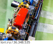 LINear accelerator tunnel of ALBA synchrotron (2019 год). Редакционное фото, фотограф Яков Филимонов / Фотобанк Лори