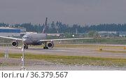 Passenger Airbus A330 Aeroflot. Редакционное видео, видеограф Игорь Жоров / Фотобанк Лори