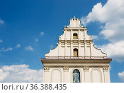 Church of the Holy Spirit, (another name - Peter and Paul Temple)... Стоковое фото, фотограф Ryhor Bruyeu / easy Fotostock / Фотобанк Лори