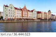 Fishing village district of Kaliningrad. Редакционное фото, фотограф EugeneSergeev / Фотобанк Лори