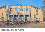 Am 17.11. 2020 kurz nach 1.00 Uhr wurde diese unter Denkmalschutz... Стоковое фото, фотограф Zoonar.com/Falke / age Fotostock / Фотобанк Лори