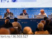 The European House Ambrosetti, Forum Intelligence on the World Europe... Редакционное фото, фотограф Nicola Marfisi / AGF/Nicola Marfisi / AGF / age Fotostock / Фотобанк Лори