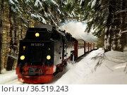 Brocken im Schnee und Eis, Winter,Harz.Harz Narrow Gauge Steam Train... Стоковое фото, фотограф Zoonar.com/Arvidas Saladauskas / age Fotostock / Фотобанк Лори