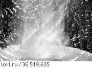 Brocken im Schnee und Eis, Winter,Harz.Misty landscape in Winter ... Стоковое фото, фотограф Zoonar.com/Arvidas Saladauskas / age Fotostock / Фотобанк Лори