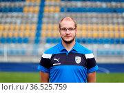 Mannschaft und Kader des FC Carl Zeiss Jena. Стоковое фото, фотограф Zoonar.com/Markus Kaemmerer / age Fotostock / Фотобанк Лори