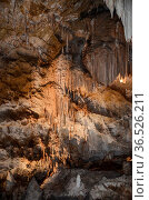 Details of the rock formations within Jenolan Caves, near Sydney, ... Стоковое фото, фотограф Marquicio Pagola / age Fotostock / Фотобанк Лори