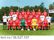 Spieler und Mannschafts- und Spielerportraits ZFC Meuselwitz Saison... Стоковое фото, фотограф Zoonar.com/Markus Kämmerer / age Fotostock / Фотобанк Лори