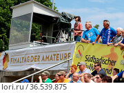 Finaltag der Amateure - SBFV-Pokal - 2015/16: Finale: SV Oberachern... Стоковое фото, фотограф Zoonar.com/Joachim Hahne / age Fotostock / Фотобанк Лори