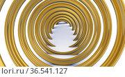 Modern hall wallpaper with helix. Стоковая иллюстрация, иллюстратор WalDeMarus / Фотобанк Лори