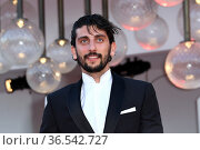 Pietro Castellitto during 'Freaks Out' red carpet during the 78th... Редакционное фото, фотограф AGF/Maria Laura Antonelli / age Fotostock / Фотобанк Лори