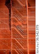 Baustelle, bauindustrie, fassade, schutz, sicherheit, baustellenschutz... Стоковое фото, фотограф Zoonar.com/Volker Rauch / easy Fotostock / Фотобанк Лори