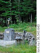Marterl im Bayerischen Wald - Wayside cross in Bavarian Forest. Стоковое фото, фотограф Zoonar.com/lantapix / easy Fotostock / Фотобанк Лори