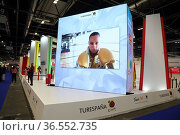 Participation of professionals of the tourism sector in the international... Редакционное фото, фотограф Luis Fidel Ayerves / age Fotostock / Фотобанк Лори