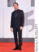 Elio Germano during the 78th annual Venice International Film Festival... Редакционное фото, фотограф Antonelli / AGF/Maria Laura Antonelli / age Fotostock / Фотобанк Лори