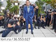 Emmy Award Winner Vincent De Paul arrives for Dur Doux Runway Show... Редакционное фото, фотограф Jeff Grossman / WENN.com / age Fotostock / Фотобанк Лори