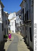 Zuheros village, Sierra de la Subbetica, Andalusia,Spain. Редакционное фото, фотограф Frederic Soreau / age Fotostock / Фотобанк Лори