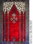 Persian carpet collection of Calahorra tower museum, Cordoba, Andalusia... Стоковое фото, фотограф Frederic Soreau / age Fotostock / Фотобанк Лори