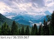 Brenta Gruppe in den Dolomiten - Brenta group in Dolomites 01. Стоковое фото, фотограф Zoonar.com/Liane Matrisch / easy Fotostock / Фотобанк Лори