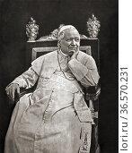 "Pope Pius IX, born Giovanni Maria Mastai-Ferretti, 1792 â. ""1878. ... (2020 год). Редакционное фото, фотограф Classic Vision / age Fotostock / Фотобанк Лори"