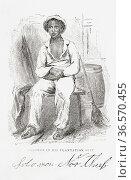 Solomon Northrup, c. 1807 - after 1860. Free-born African American... Редакционное фото, фотограф Classic Vision / age Fotostock / Фотобанк Лори