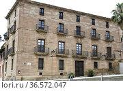 Calahorra, Episcopal Palace (17-18th century). La Rioja, Spain. Стоковое фото, фотограф J M Barres / age Fotostock / Фотобанк Лори