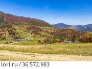 NP Mala Fatra near Zilina, Slovakia. Стоковое фото, фотограф Richard Semik / easy Fotostock / Фотобанк Лори