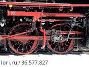 Dampflok , räder, , lok, dampflokomotive, lokomotive, eisenbahn, bahn... Стоковое фото, фотограф Zoonar.com/Volker Rauch / easy Fotostock / Фотобанк Лори