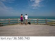 Cap Gris Nez, Nord Pas-de-Calais, Normandie, Frankreich   Nord Pas... Стоковое фото, фотограф Zoonar.com/GUENTER LENZ / age Fotostock / Фотобанк Лори