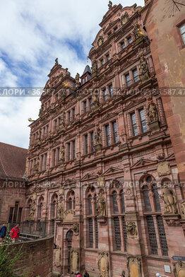 Гейдельберг, Германия. Здание Фридрихсбау, 1601 - 1607 г.