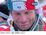 Julien Lizeroux, Siegerehrung, Fis-Weltcupfinale, 2010, Garmisch-... Стоковое фото, фотограф Zoonar.com/GUENTER LENZ / age Fotostock / Фотобанк Лори