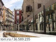 Neighborhood of Santa Cruz. Alicante Castilla-La Mancha, Spain. Стоковое фото, фотограф Antonio Real / age Fotostock / Фотобанк Лори