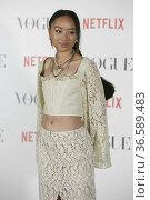 Sarah Griff attend Griff - Vogue Fashion's night out at Casa Vogue... Редакционное фото, фотограф MarcosPergon / age Fotostock / Фотобанк Лори