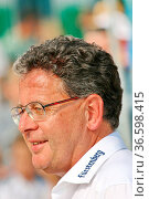 Dieter Bühler, erster Vorsitzender SC Bahlingen beim DFB-Pokal 15... Стоковое фото, фотограф Zoonar.com/Joachim Hahne / age Fotostock / Фотобанк Лори