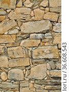 Natursteinmauer, mauer, steinmauer, stein, steine, natursteine, wand... Стоковое фото, фотограф Zoonar.com/Volker Rauch / easy Fotostock / Фотобанк Лори