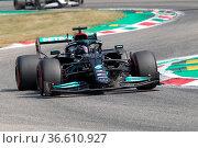 MONZA, Italy, Saturday 11. SEPTEMBER 2021: #44, Lewis HAMILTON, GBR... Редакционное фото, фотограф ATP / WENN / age Fotostock / Фотобанк Лори