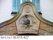 Alte Schule am Wall in Detmold. Стоковое фото, фотограф Zoonar.com/Martina Berg / easy Fotostock / Фотобанк Лори