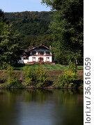 Gestüt Saareck in Mettlach. Стоковое фото, фотограф Zoonar.com/Martina Berg / easy Fotostock / Фотобанк Лори