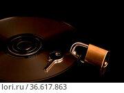 Datensicherheit - ein Schlagwort unserer Zeit sprichwörtlich umgesetzt. Стоковое фото, фотограф Zoonar.com/Eder Hans / age Fotostock / Фотобанк Лори