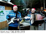Musikalische Unterhaltung gab es auch. Am Samstag (28.11.2015) wurde... Стоковое фото, фотограф Zoonar.com/Joachim Hahne / age Fotostock / Фотобанк Лори