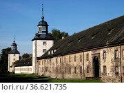 Kloster Corvey. Стоковое фото, фотограф Zoonar.com/Martina Berg / easy Fotostock / Фотобанк Лори