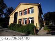 Schule am Nicolaitor in Höxter. Стоковое фото, фотограф Zoonar.com/Martina Berg / easy Fotostock / Фотобанк Лори