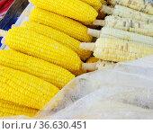 Boiled corns. Стоковое фото, фотограф Zoonar.com/Ruslan Nassyrov / easy Fotostock / Фотобанк Лори