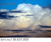 Abendhimmel, Abend, himmel, wolke, wolken, abend, abends, dämmerung... Стоковое фото, фотограф Zoonar.com/Volker Rauch / easy Fotostock / Фотобанк Лори
