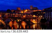 Bassano del Grappa Ponte Vecchio am Abend - Bassano del Grappa Ponte... Стоковое фото, фотограф Zoonar.com/Liane Matrisch / easy Fotostock / Фотобанк Лори
